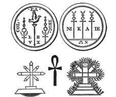 Various Examples of Pagan Crosses